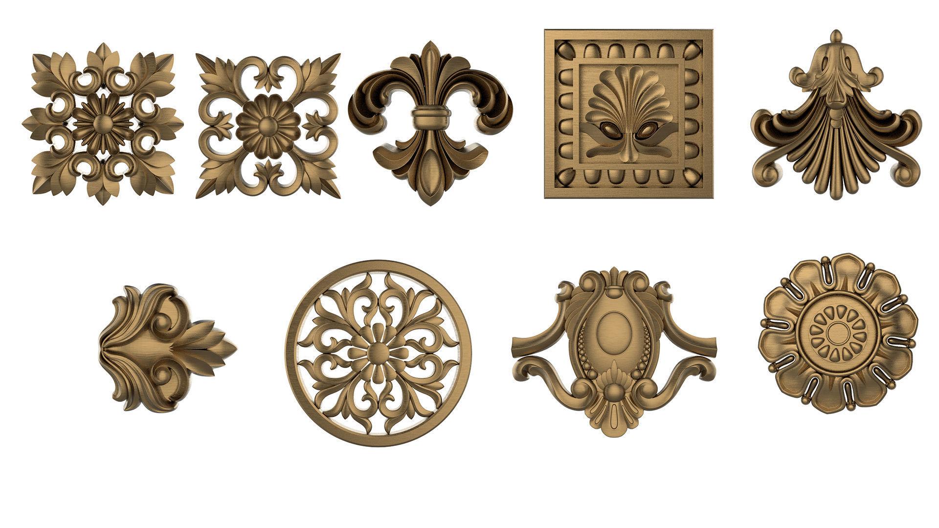 Ornament 3D Print set