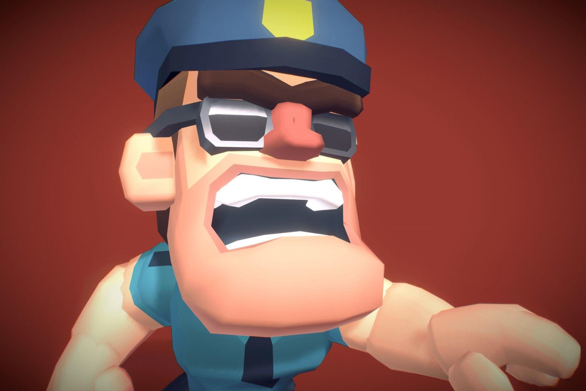 Police Officer Hunter - Proto Series