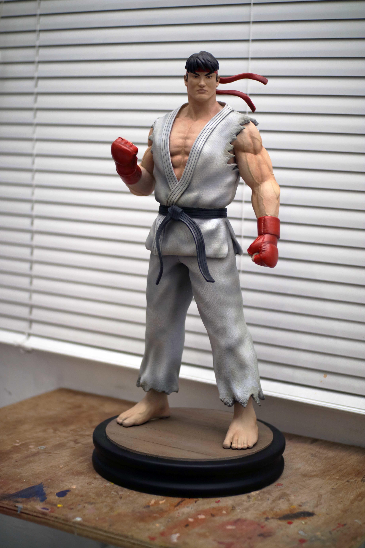 3d Printable Model Ryu Street Fighter Fan Art