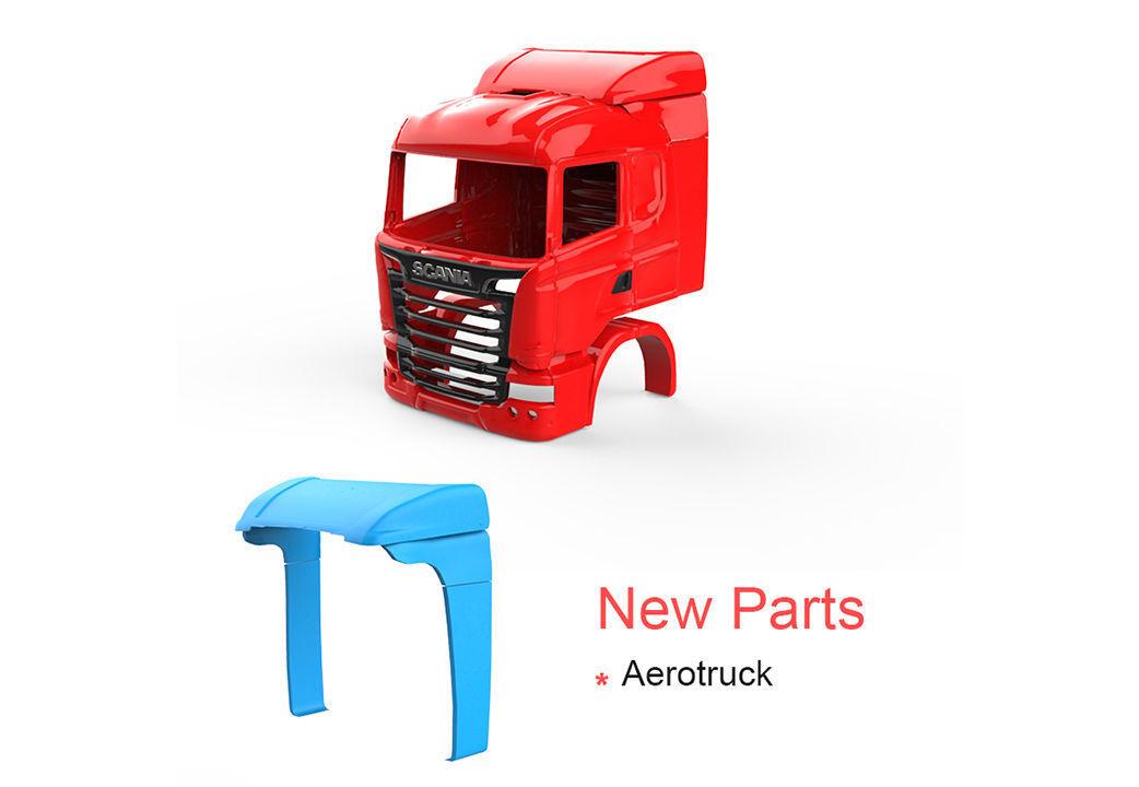 Scania R730 V8 - New Part - Aerotruck