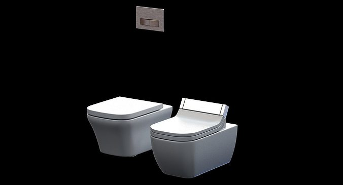 duravit happy d toilet 2 3d model