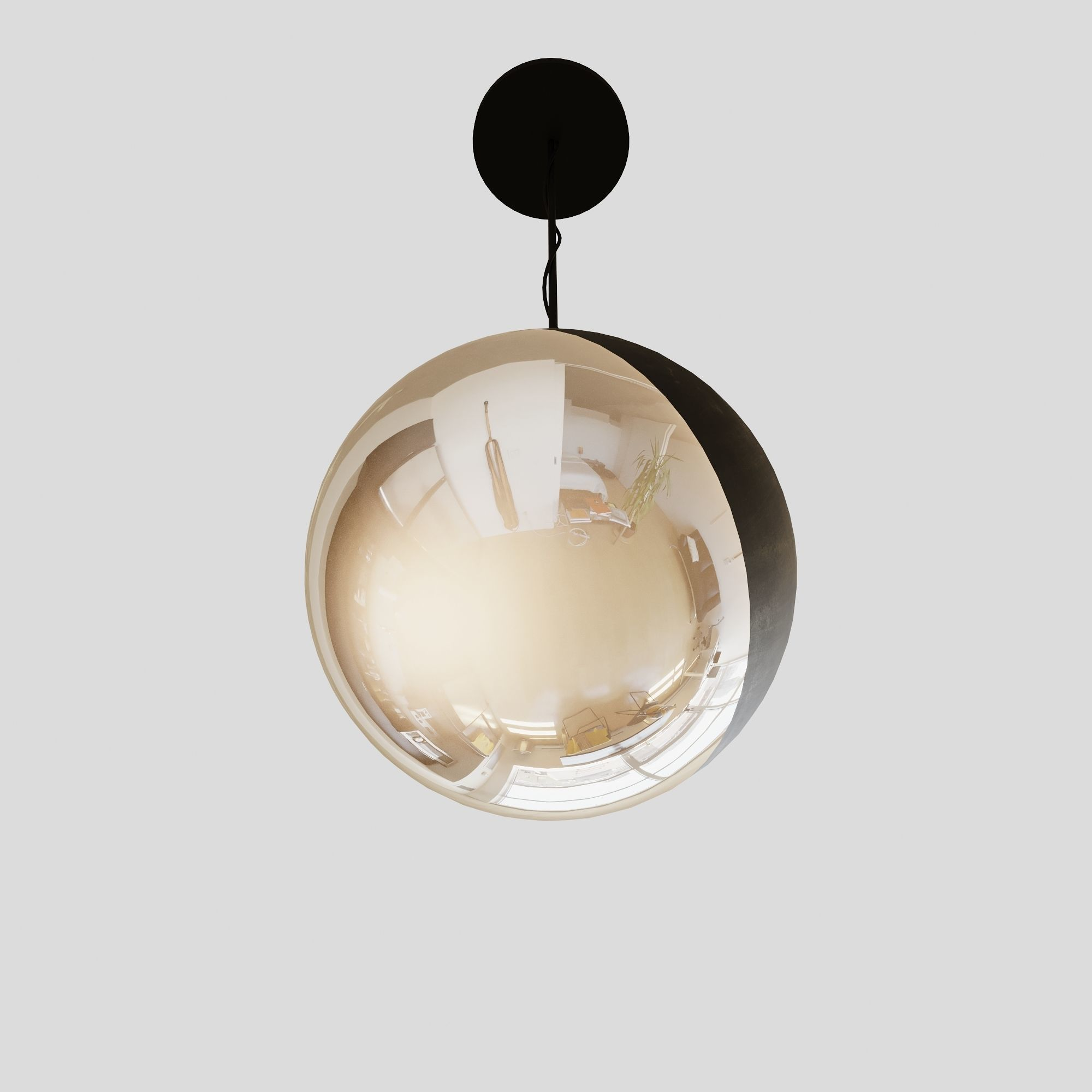 Ceiling Lamp 03 V-ray