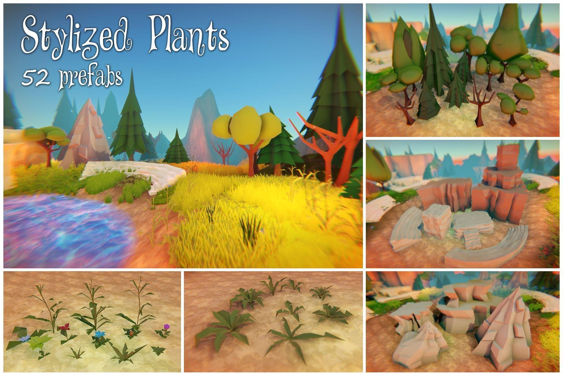 Stylized Plants