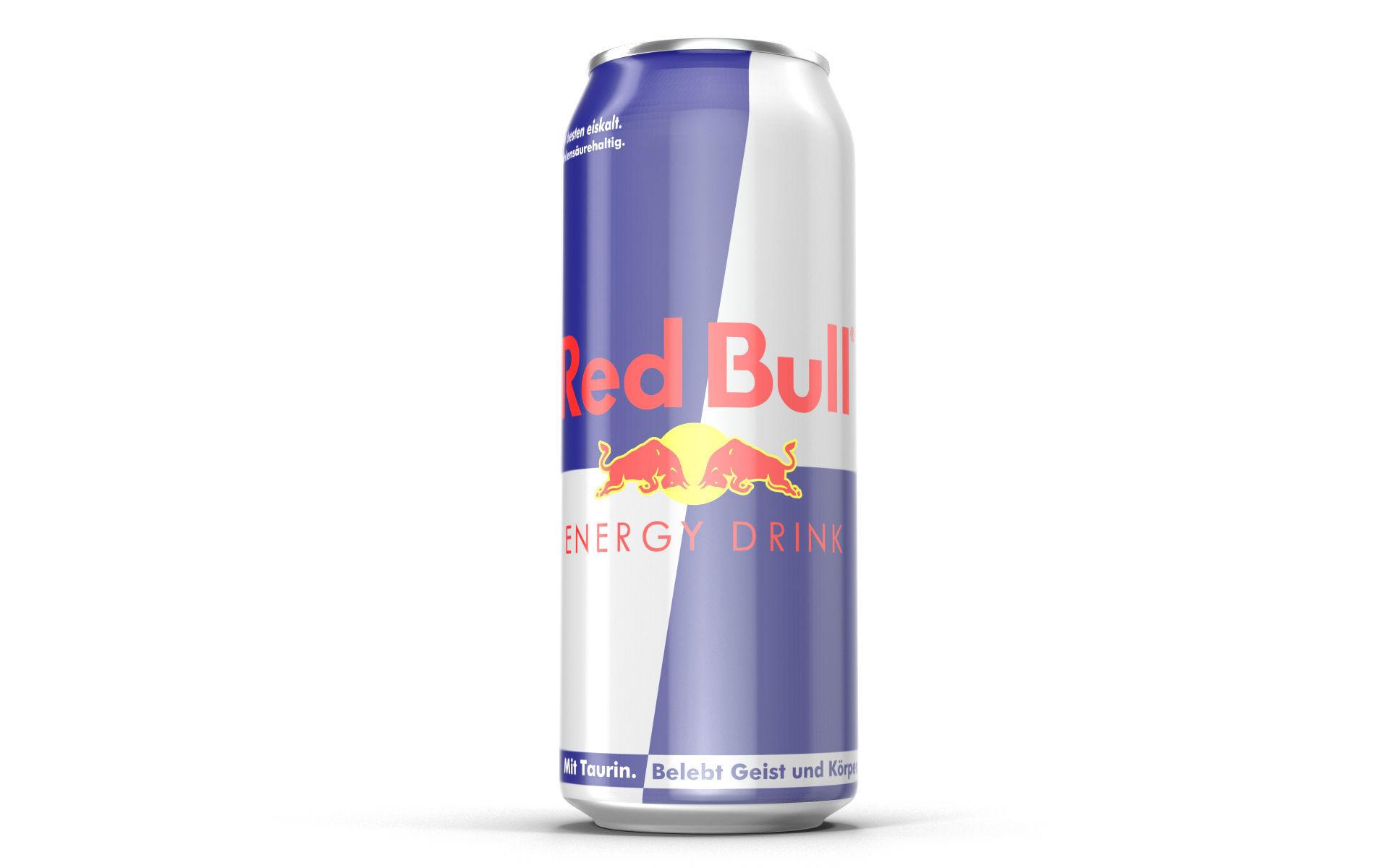 Aluminum Can Red Bull