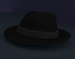 Fedora 3D asset