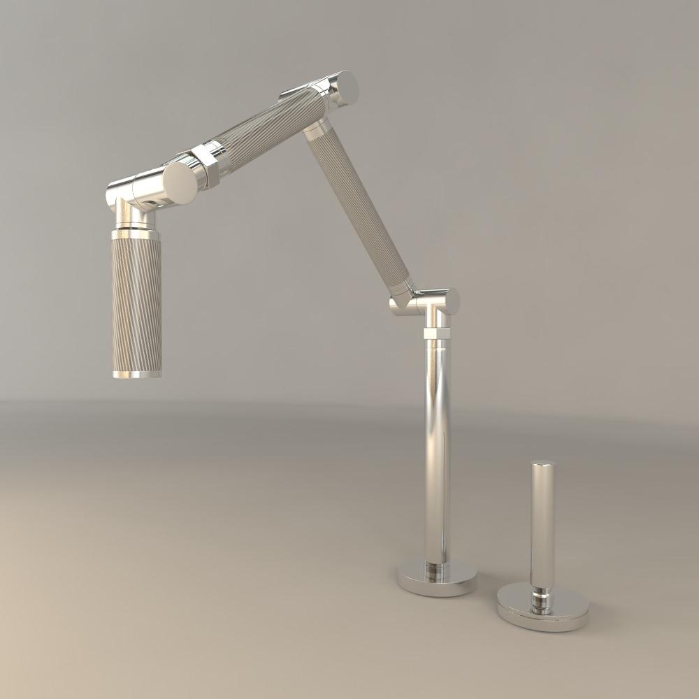 kohler karbon kitchen sink faucet 3d cgtrader rh cgtrader com kohler karbon kitchen faucet reviews