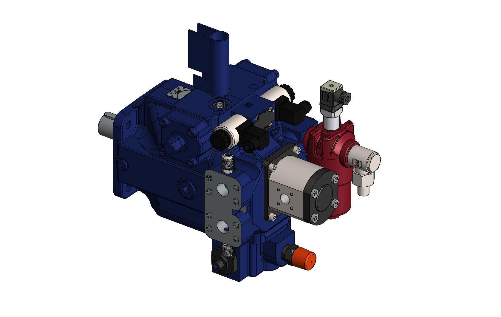 Pump A4VSG 71 EO1 Bosch Rexroth