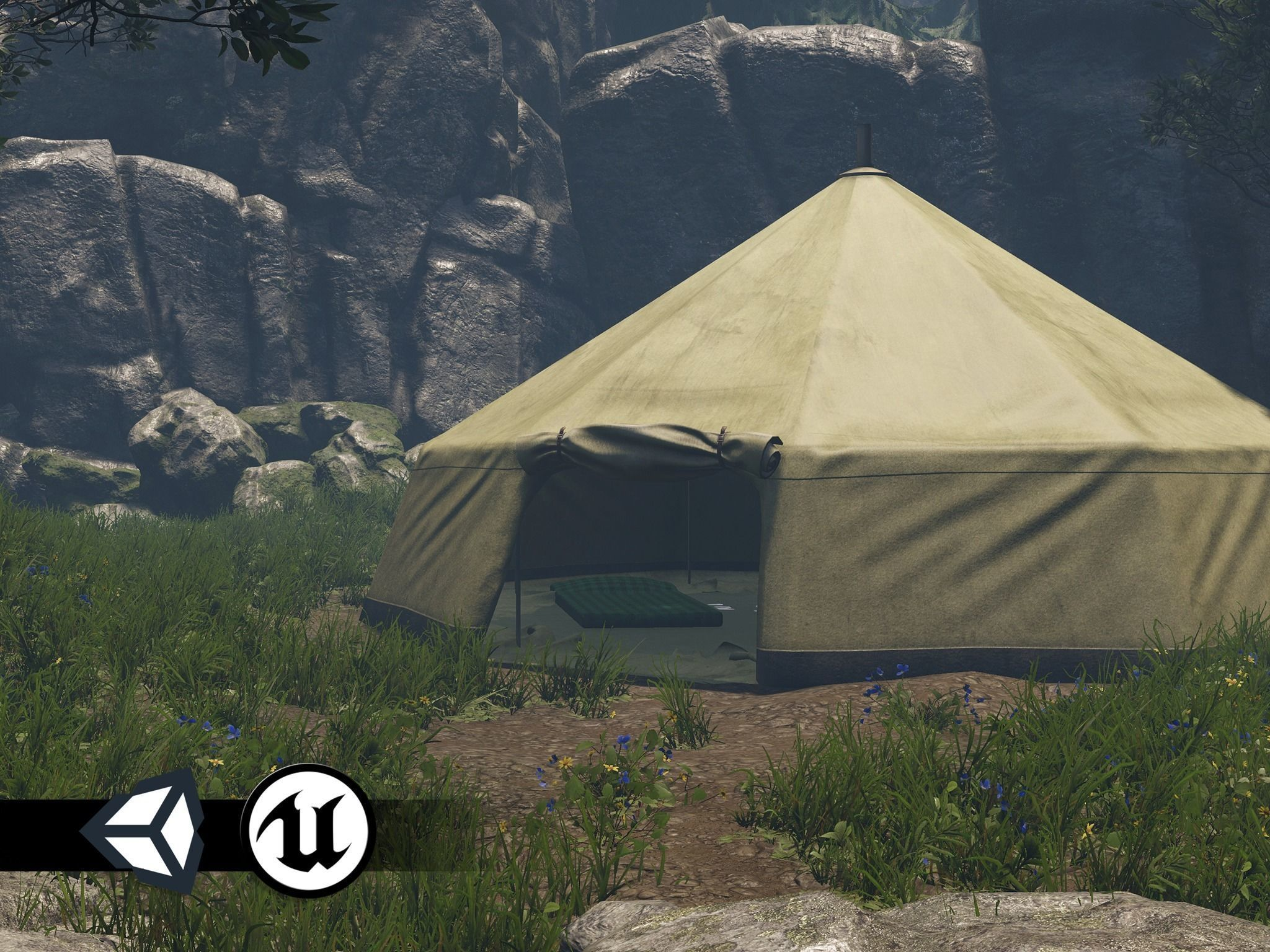 PBR Assets - Camping Tent