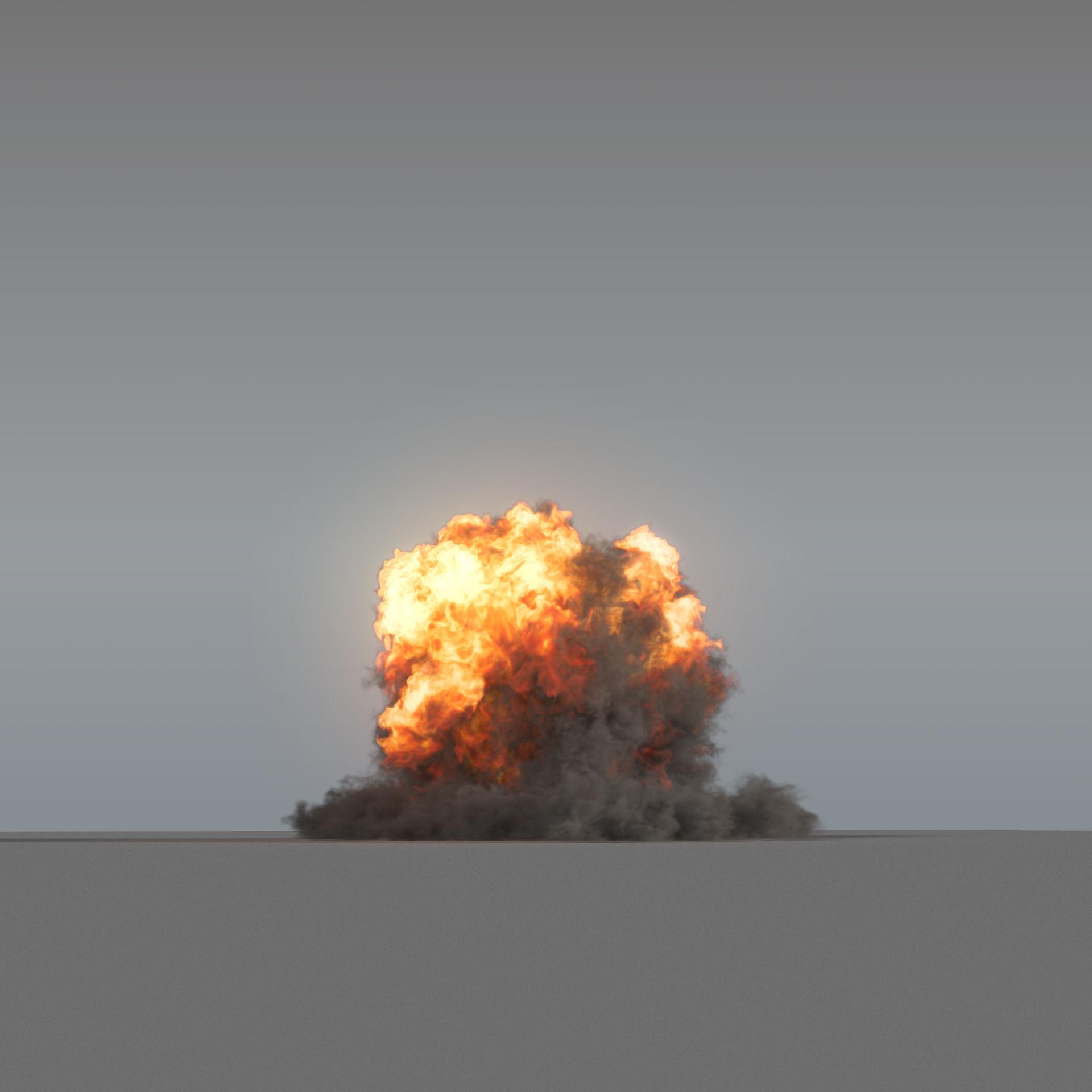 Explosion 01 - VDB