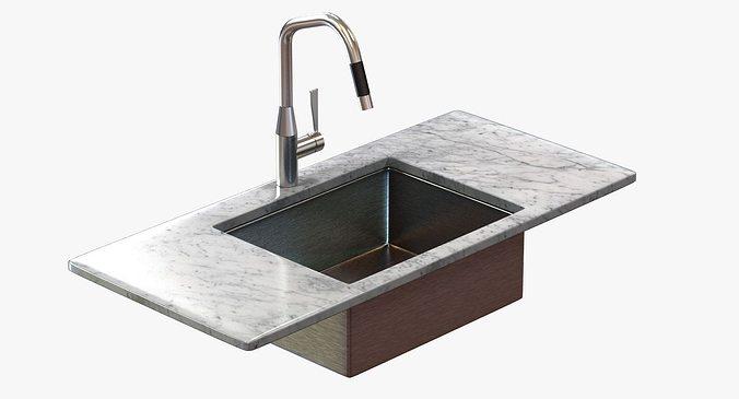 Kitchen Faucet Dornbracht SYNC 3D Model