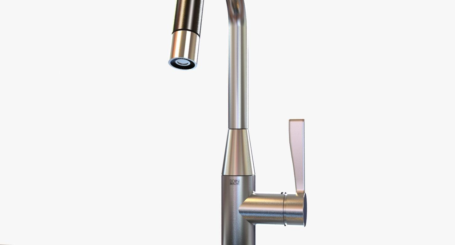 ... Kitchen Faucet Dornbracht Sync 3d Model Max Obj 3ds Fbx Mtl 2 ...