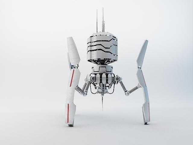 robot drt200 3d model max obj mtl 3ds fbx mat 1