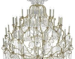 3d model badari lighting chandelier