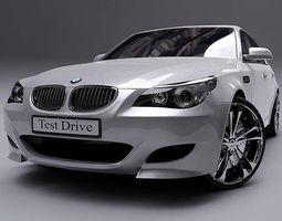 3d bmw m5 car