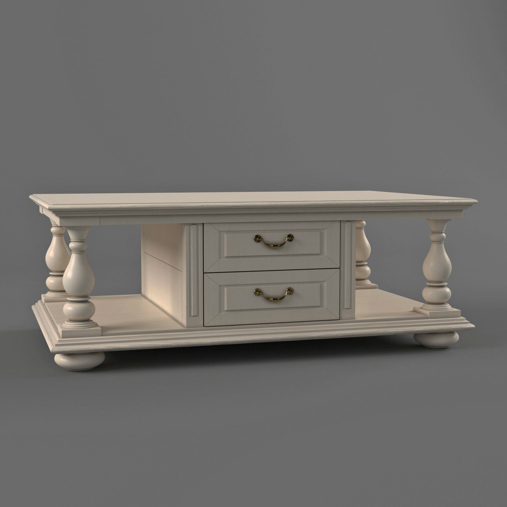 3D model Coffee table in classic style