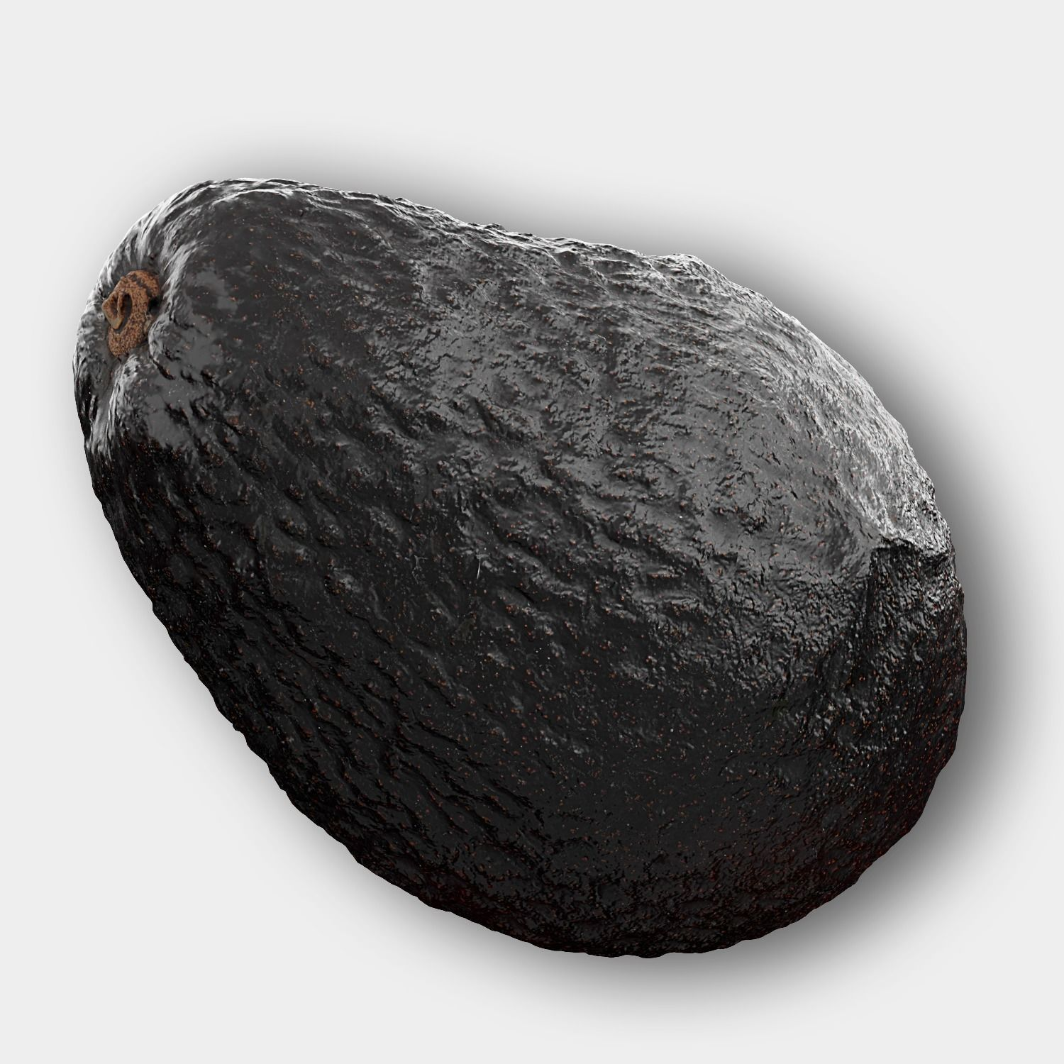 Photorealistic 3D Scanned Avocado