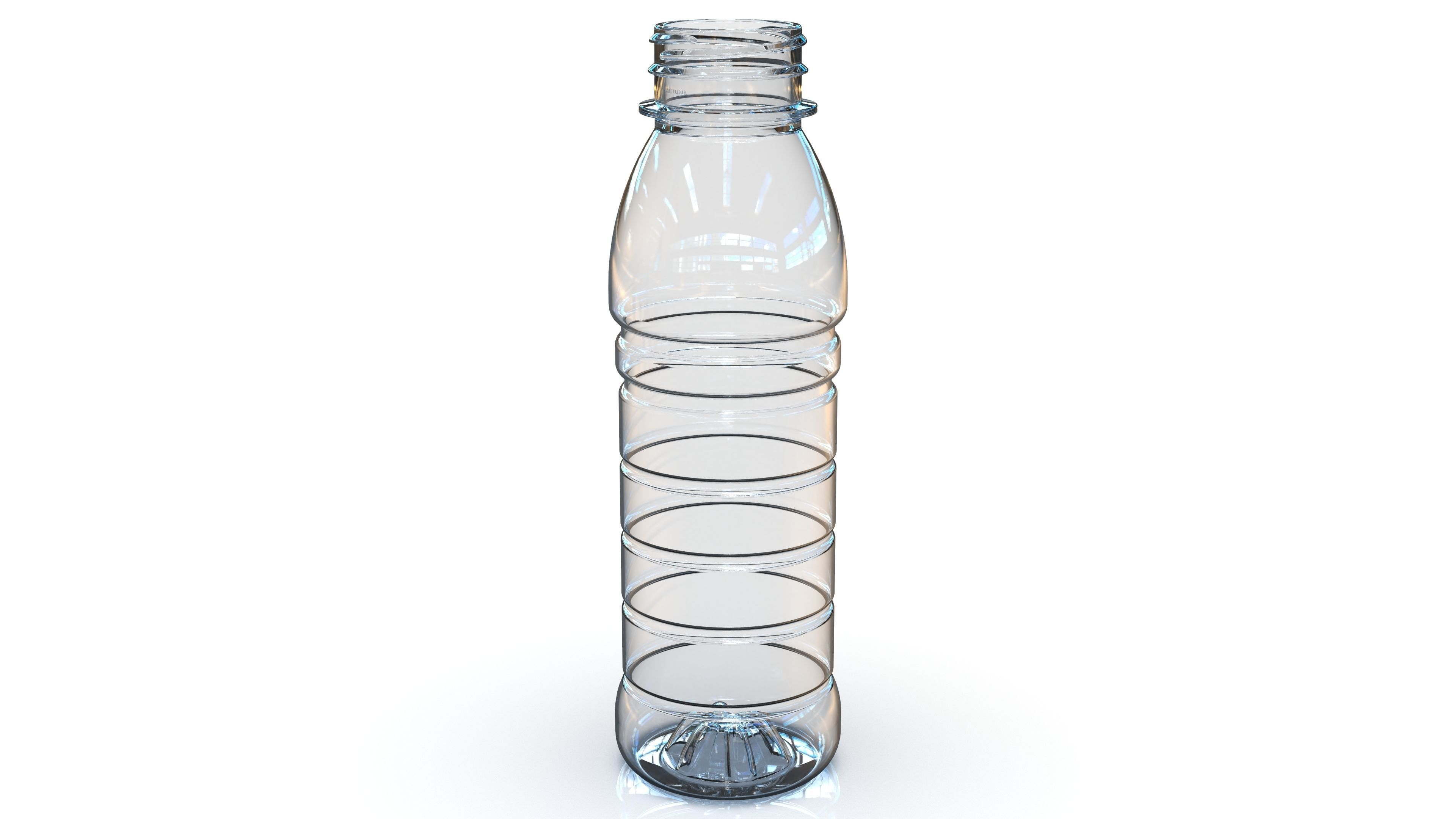 PET Bottle PCF - 38P - 1 - Round 330 mL - for water - drinks