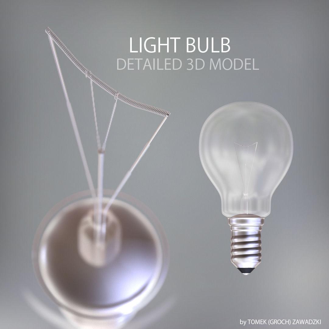 Detailed Light Bulb