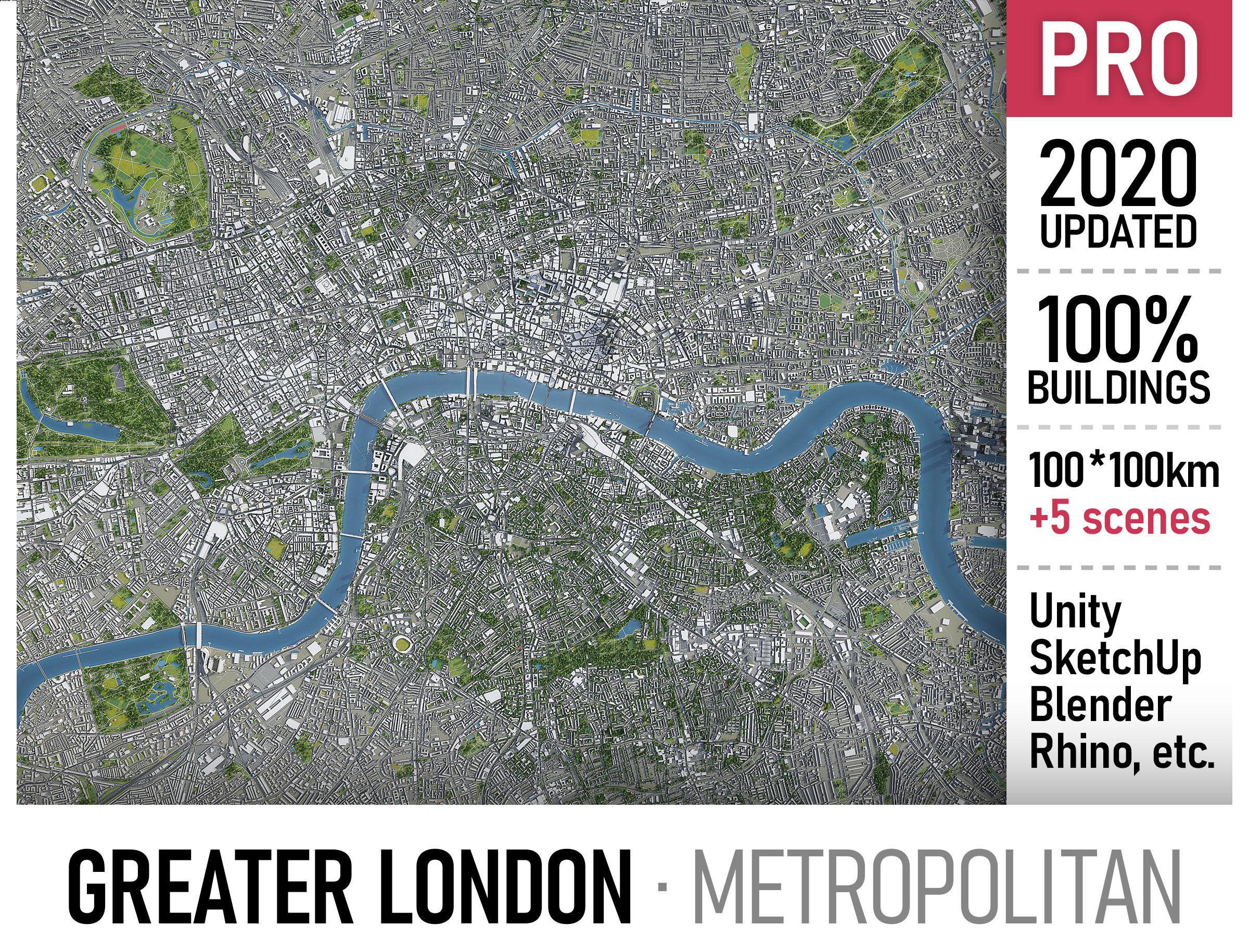 Greater London - metropolitan area