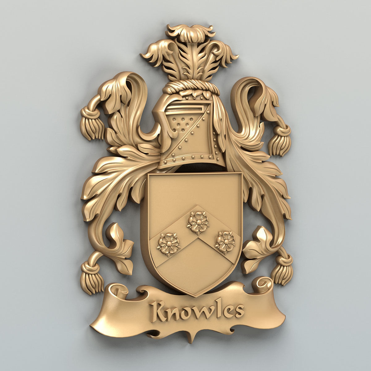 Coat of arms decorative 003