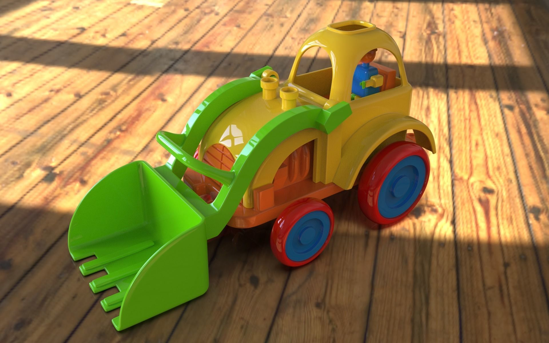 3D print Ready toy loader