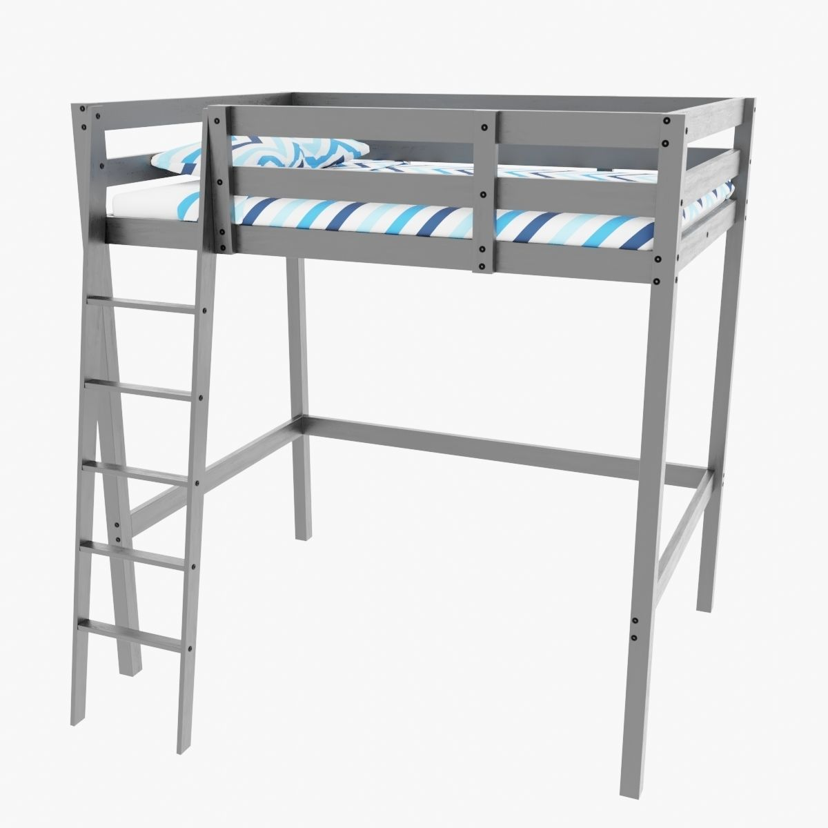 Picture of: 3d Ikea Stora Bunk Bed Cgtrader