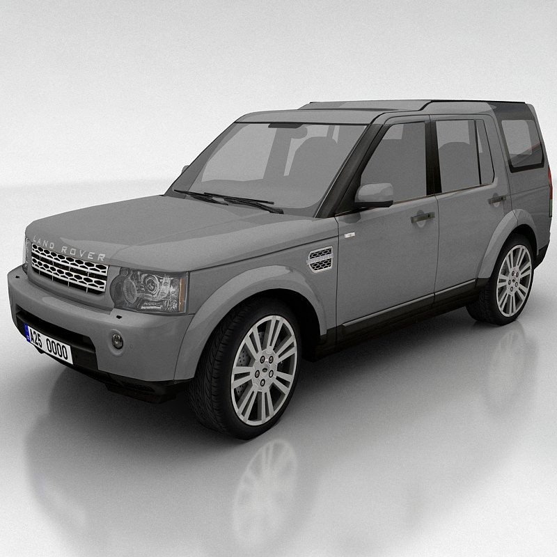 Land Rover Freelander 2 Lr2 3d Model: 3D Model Land Rover Discovery 4 VR / AR / Low-poly MAX FBX