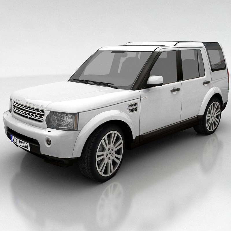 Land Rover Freelander 2 Lr2 3d Model: 3D Model Land Rover Discovery 4 VR / AR / Low-poly MAX