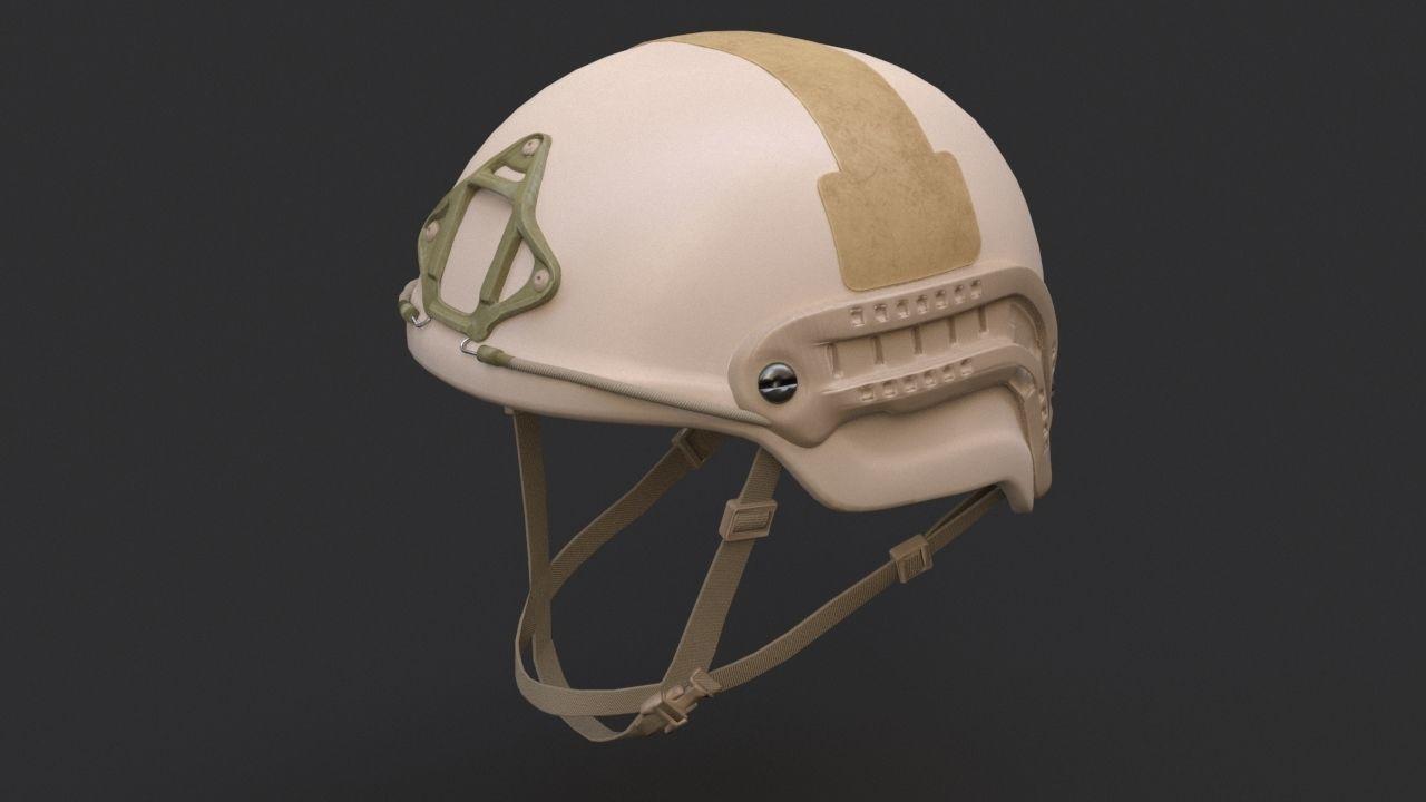 Ops Core Sentry mid cut military helmet urban tan