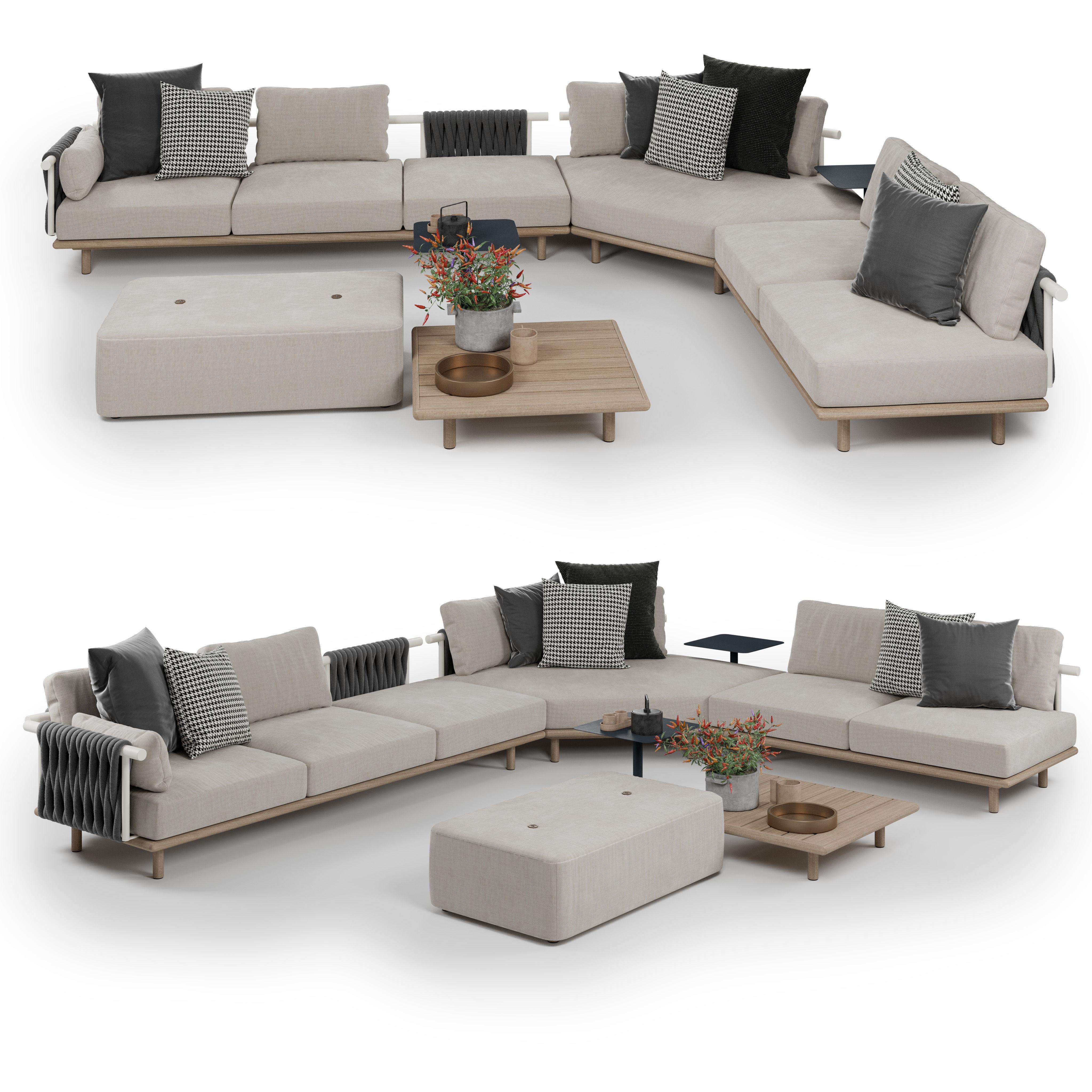 Roda Eden Corner Sofa