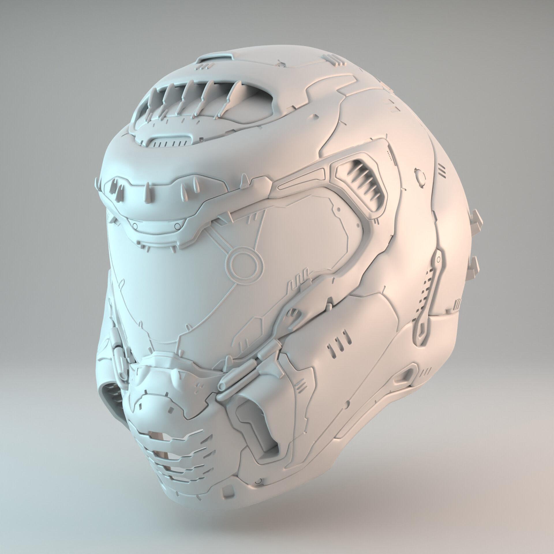 Doom Eternal Slayer Helmet