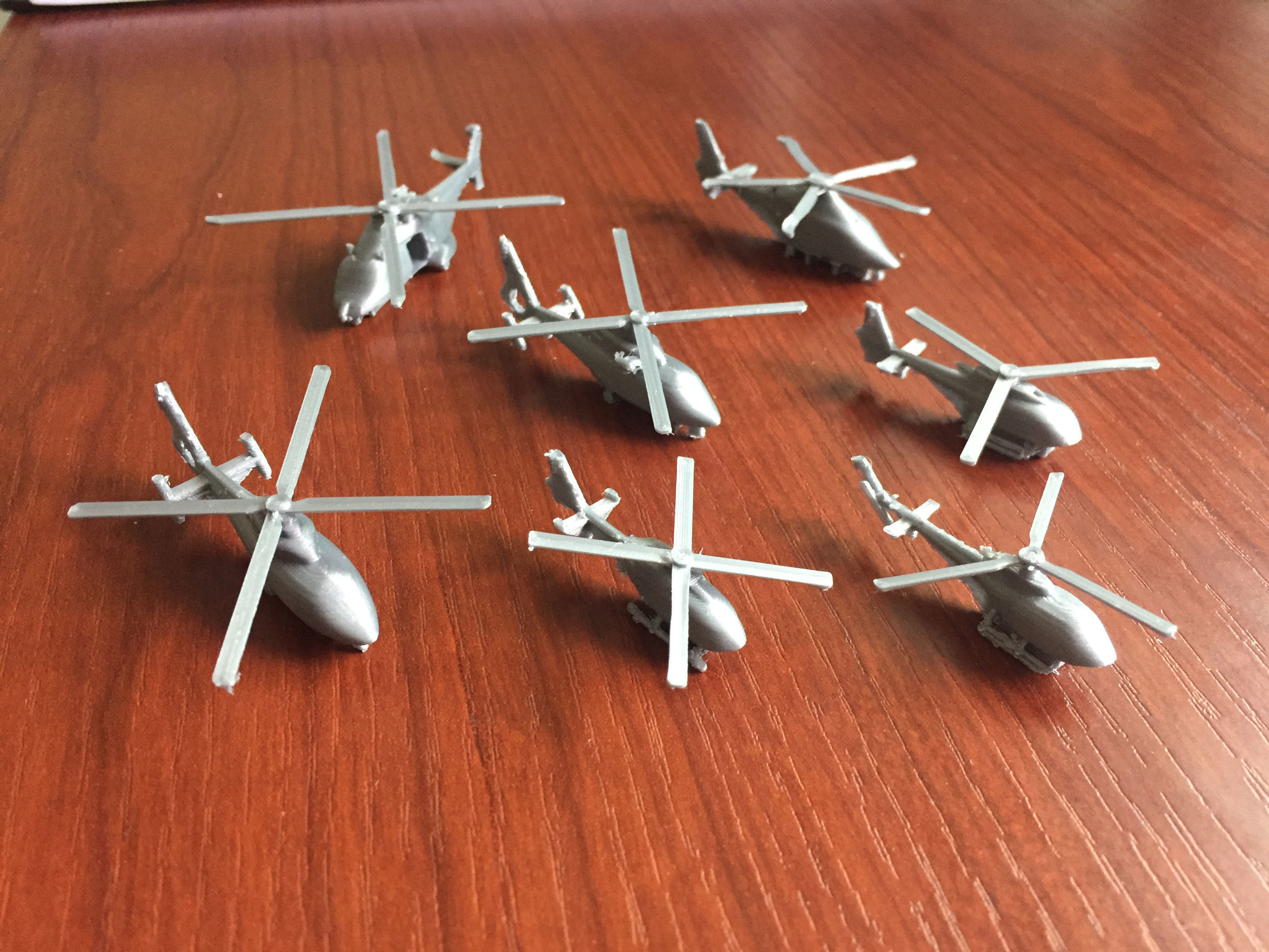 Miniature Airbus Helicopters Collection