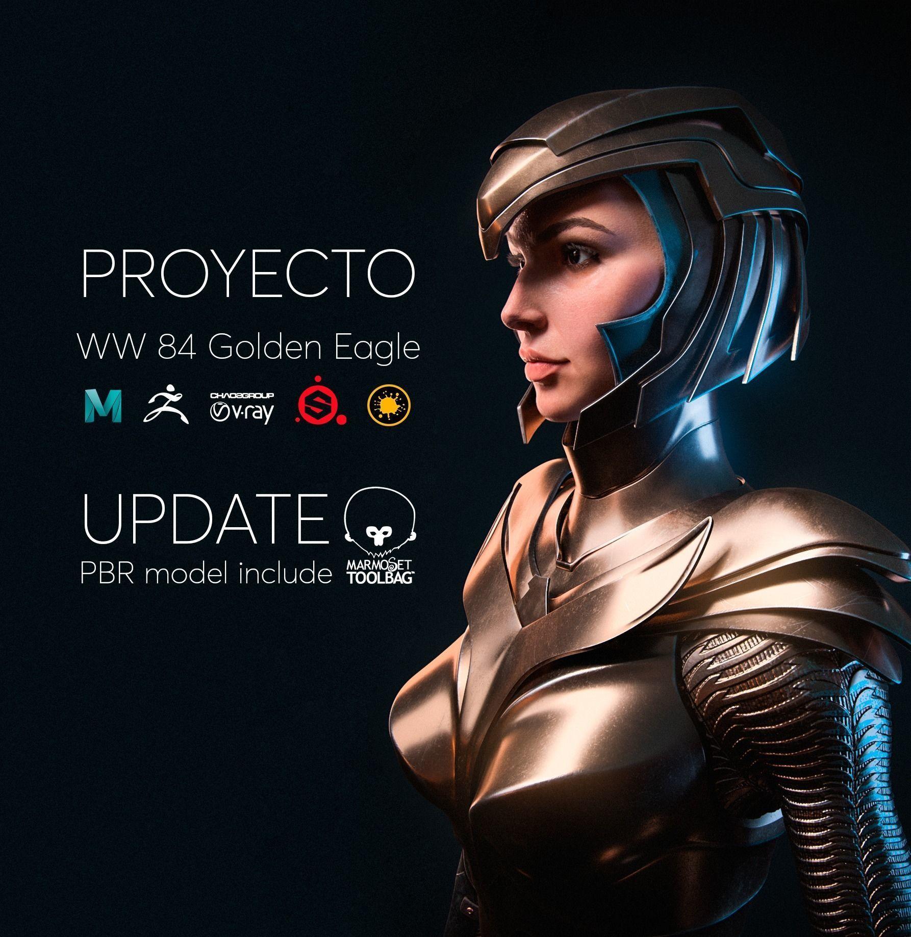 Wonder Woman Golden Eagle - Gal Gadot