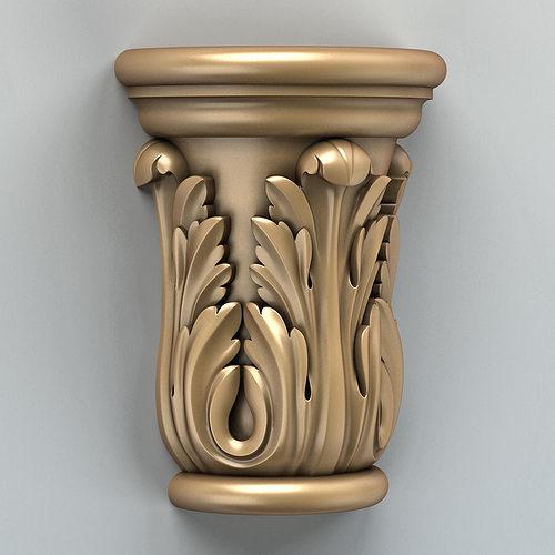 column capital 002 3d model max obj mtl fbx stl 1