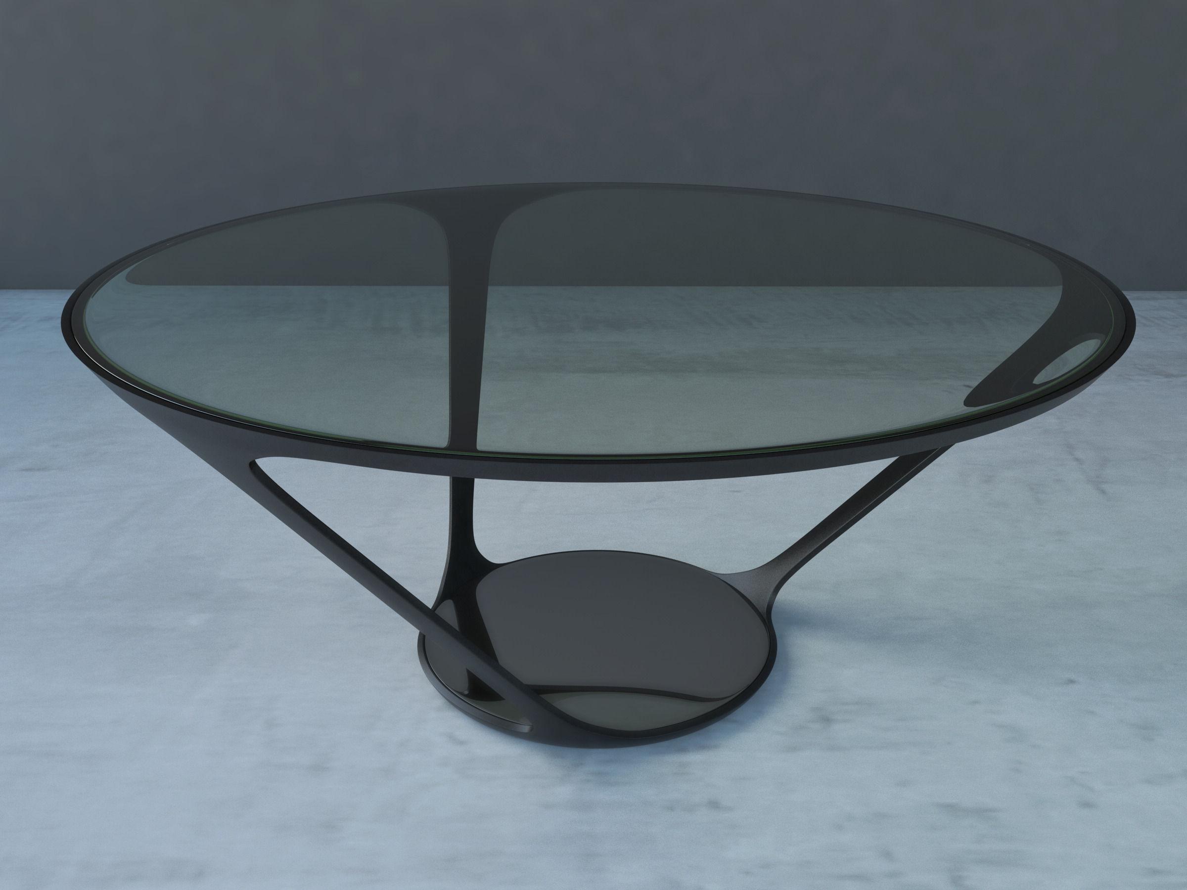 ora ito dinning table 3d model obj 3ds fbx c4d dxf. Black Bedroom Furniture Sets. Home Design Ideas