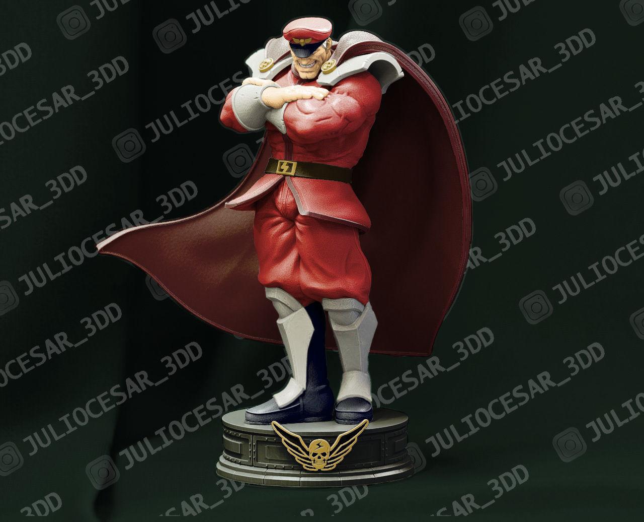 Street Fighter - M Bison Shadaloo dictator