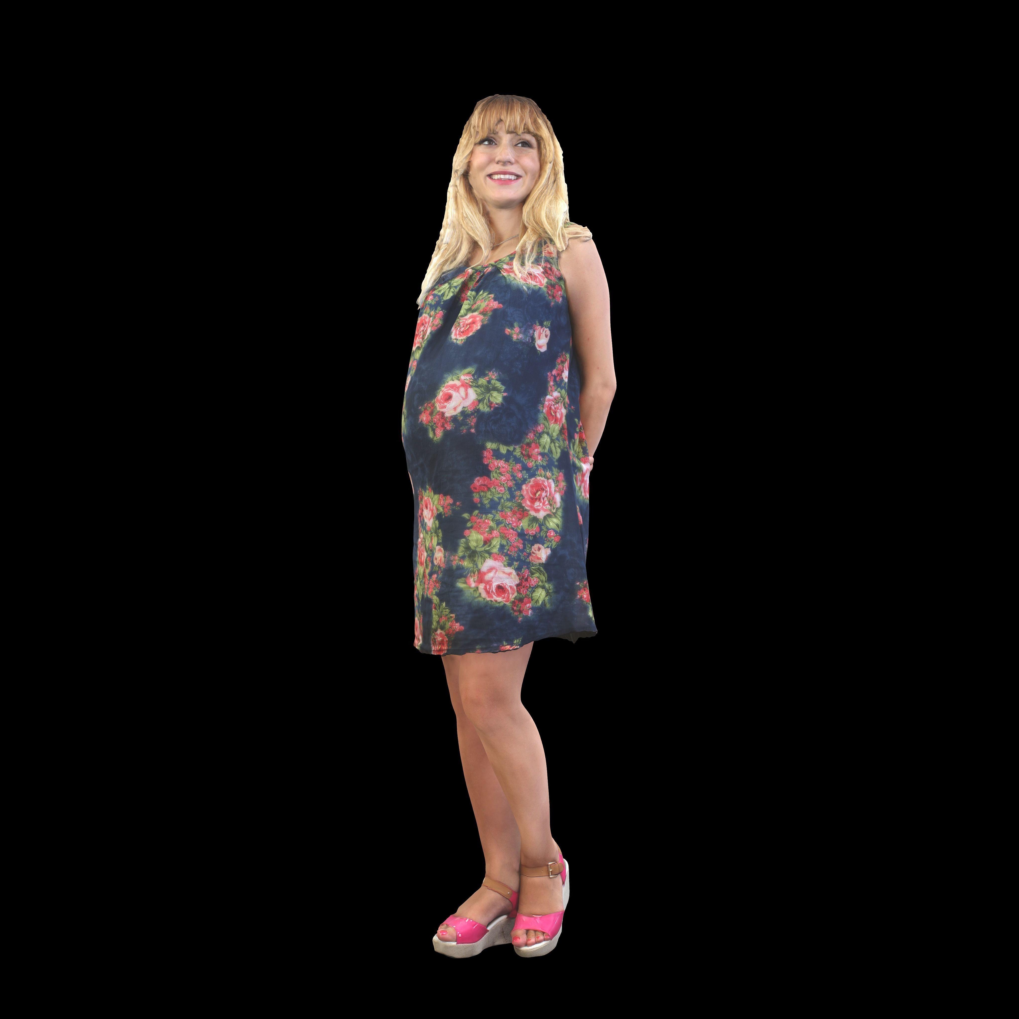 No333 - Pregnant Lady