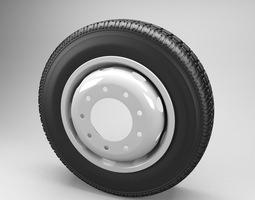 Wheel Truck 3D Model
