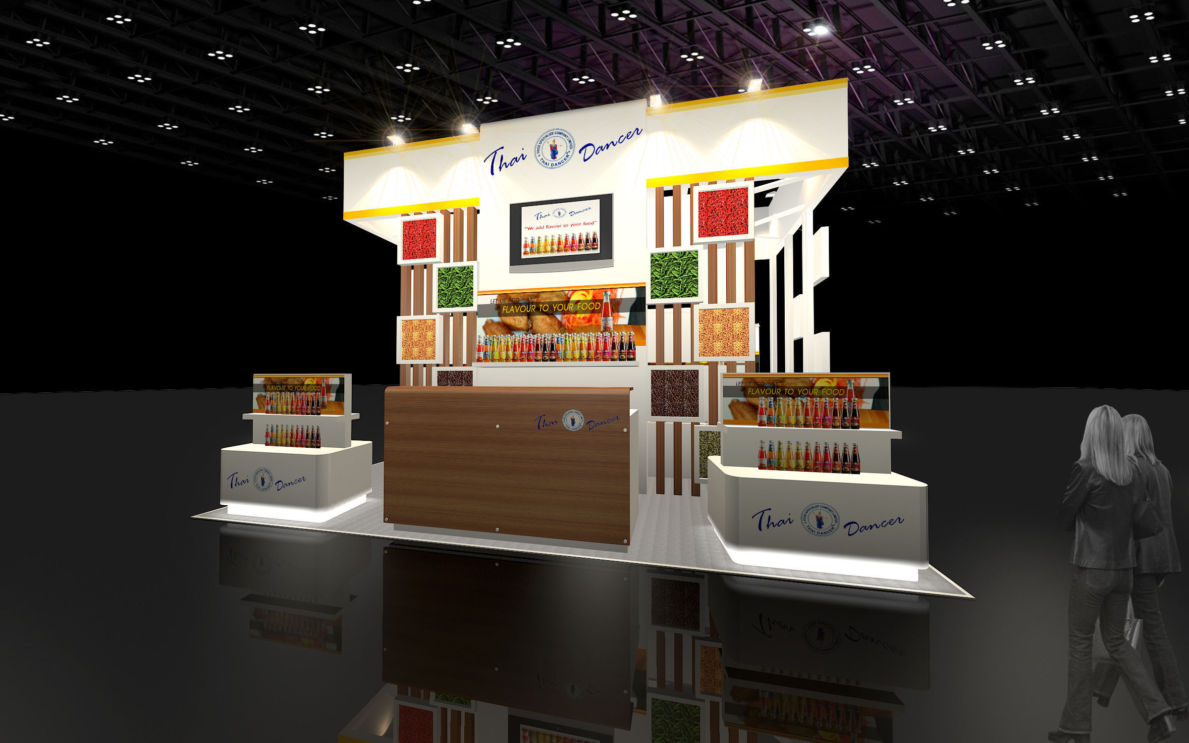 Food Exhibition Booth Design : Food booth design
