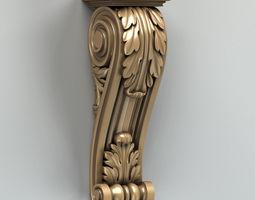 3D model Corbel 003