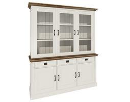 Modern closet cabinets 3D model