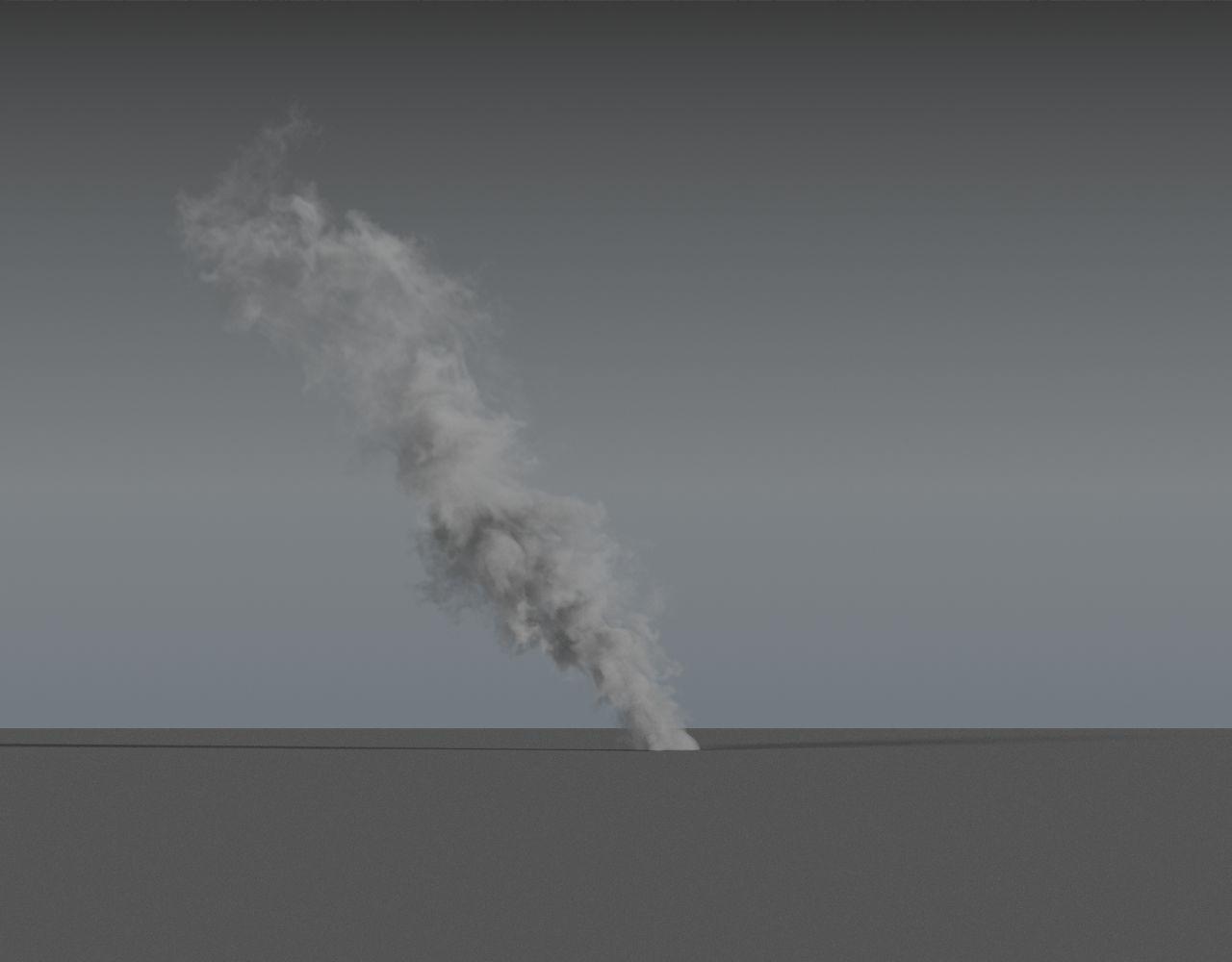Smoke Rising 03 - VDB