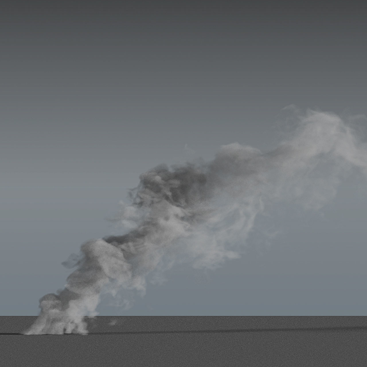 Smoke Rising 04 - VDB