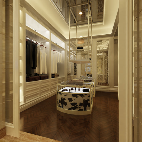 Luxury bathroom 3d model shower cgtrader for Bathroom design 3d model