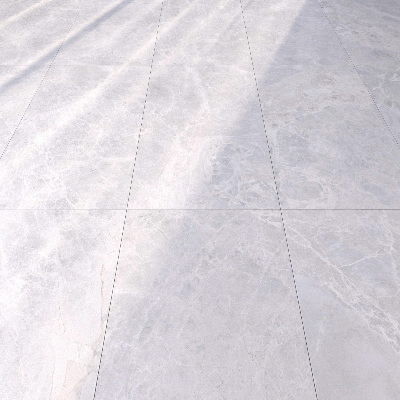 Marble Floor Alpha Bianco Set 1