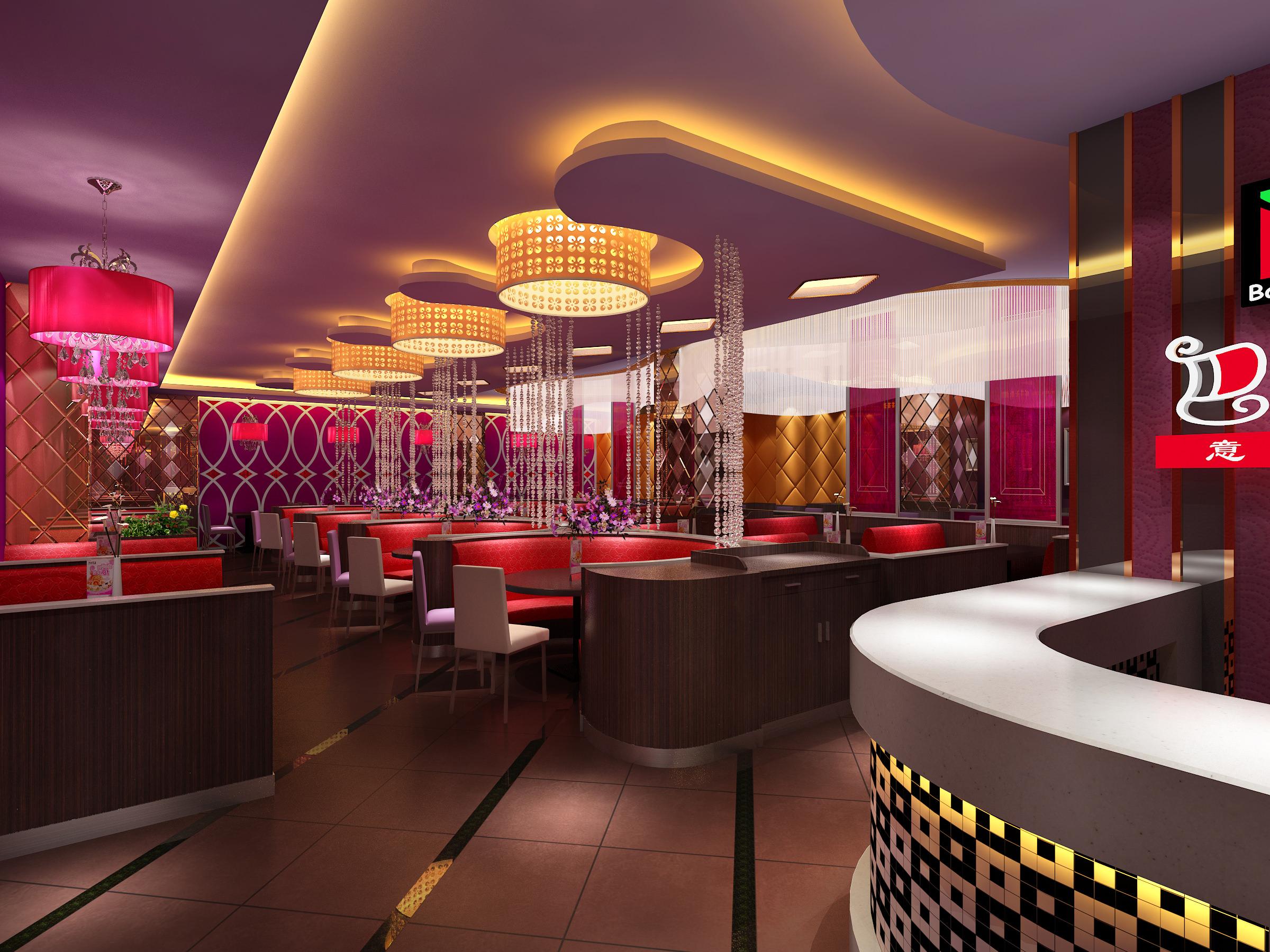 3D model Restaurant Bar