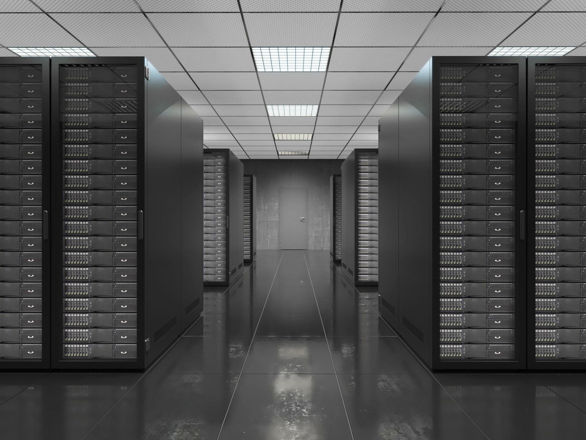 Serverroom Black