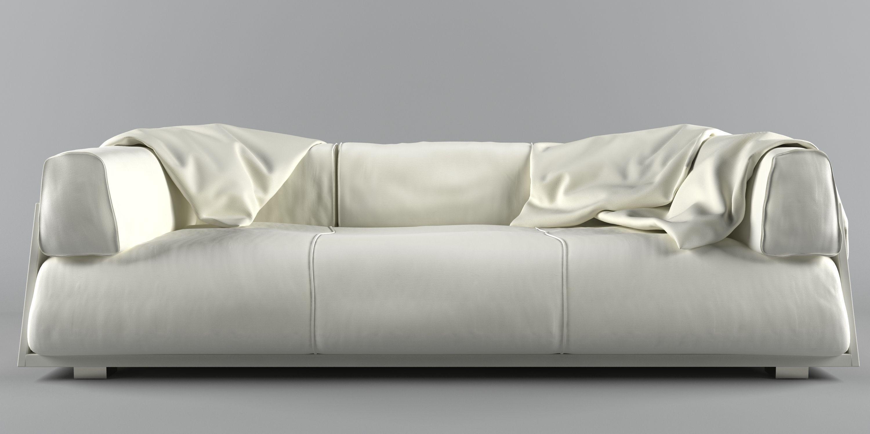 hard soft sofa 3d model max obj mtl