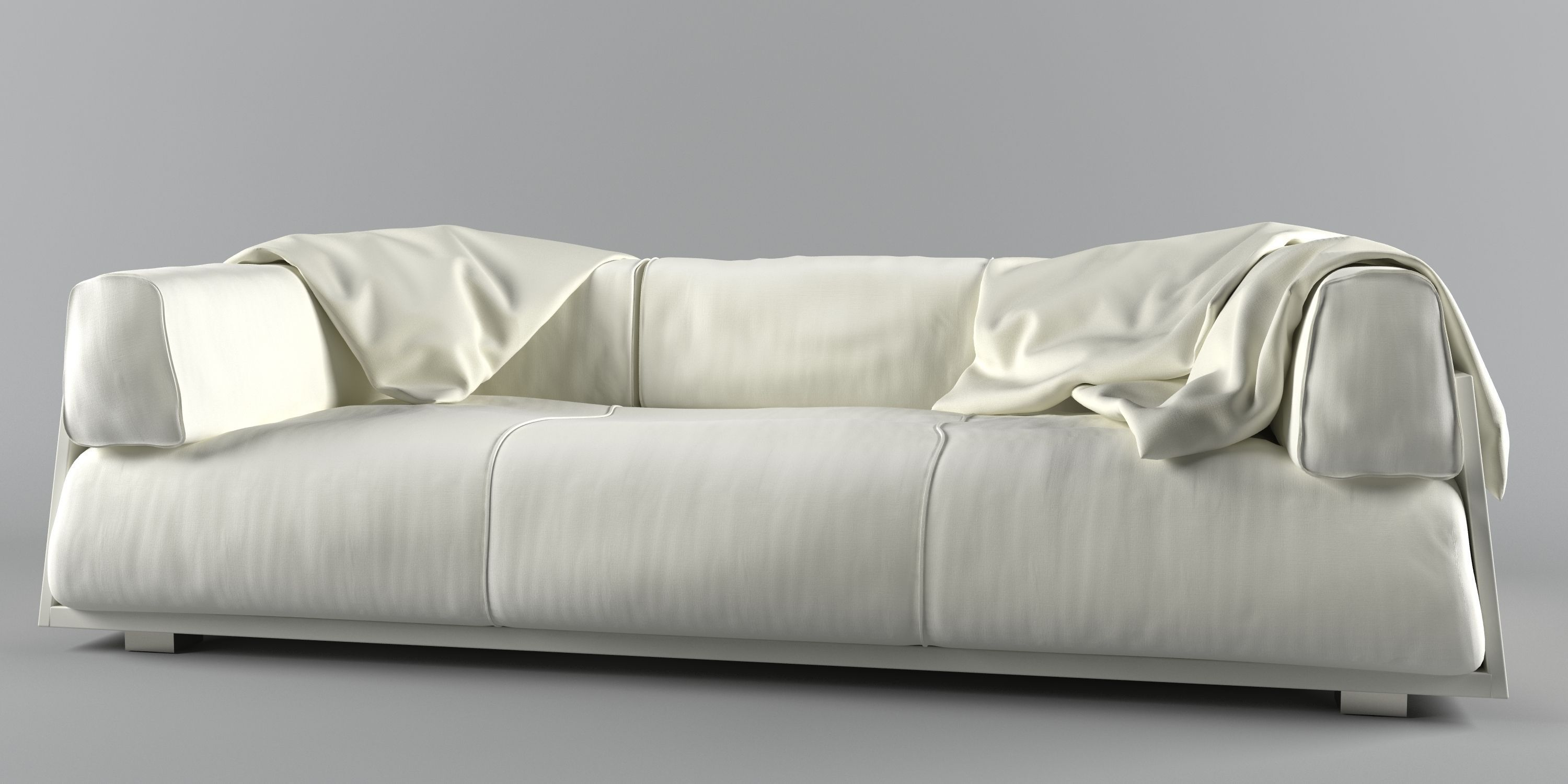 Merveilleux ... Hard Soft Sofa 3d Model Max Obj Fbx Mtl Unitypackage ...