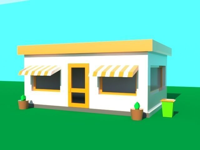 Fastfood poly model